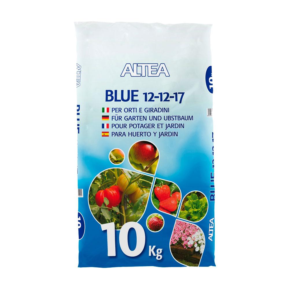 BLUE 12-12-17 kg10 IL CONCIME BLU PER ORTO FRUTTETO E GIARDINO