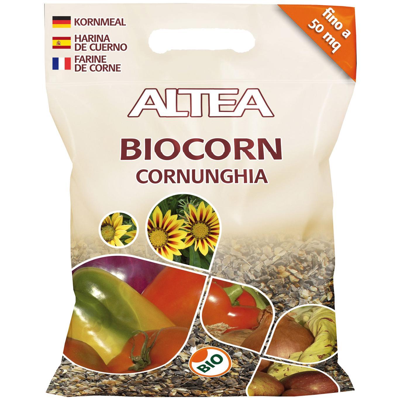 Altea BIOCORN CORNUNGHIA naturale kg2,5 in scaglie concime organico BIO