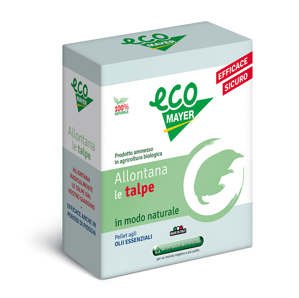 ecoTalpe Repellente, disabituante NATURALE allontana le talpe! gr500