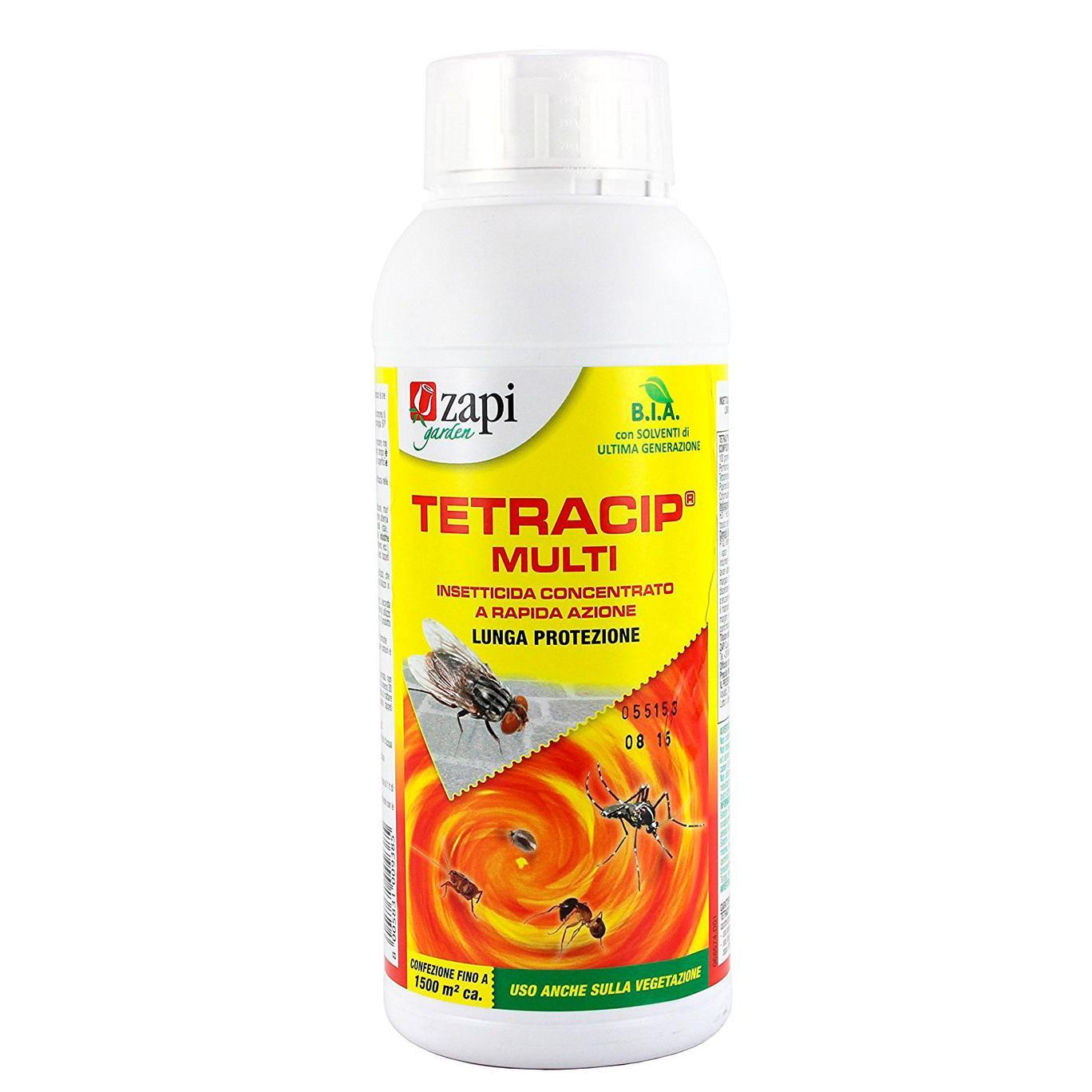 Tetracip Multi 1litro Insetticida MULTINSETTO concentrato a RAPIDA AZIONE