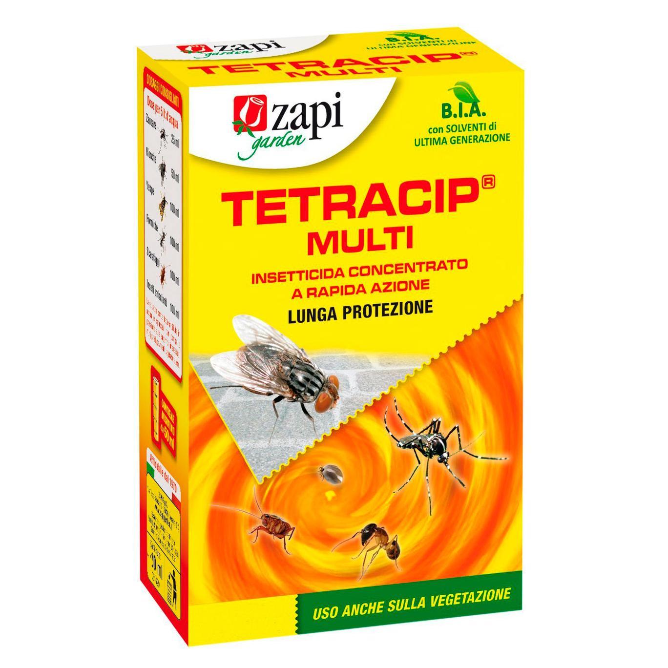 Tetracip Multi 250ml Insetticida MULTINSETTO concentrato a RAPIDA AZIONE