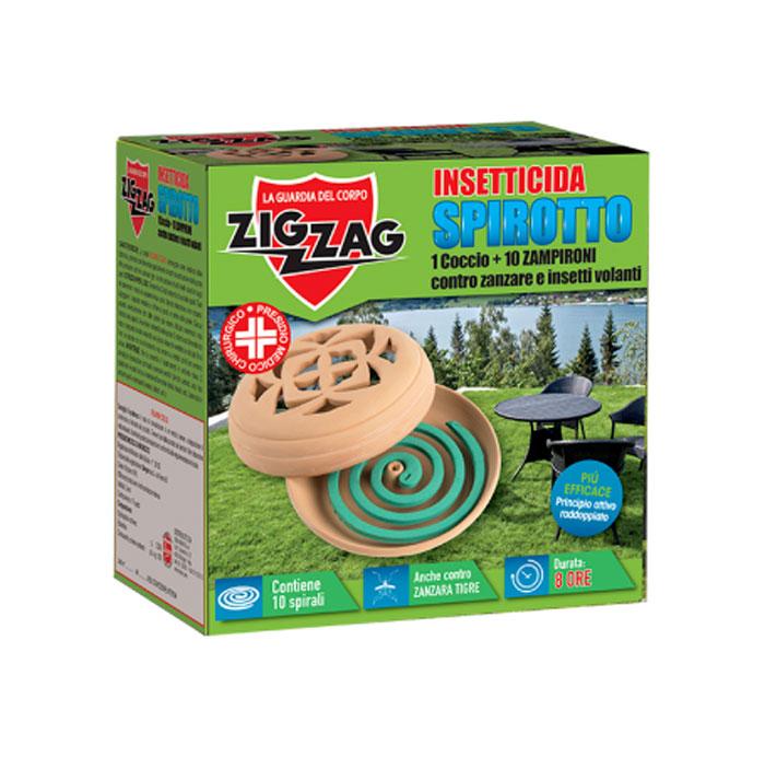 Zig Zag insetticida Coccio SPIROTTO con 10 spirali