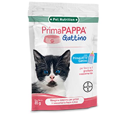 Primapappa Gattino confezione da 10 buste x85gr