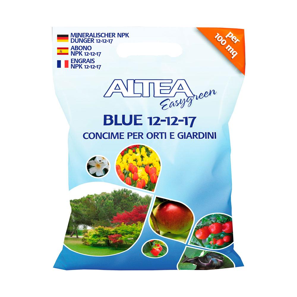 BLUE 12-12-17 kg4 IL CONCIME BLU PER ORTO FRUTTETO E GIARDINO