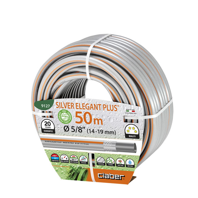 Tubo da irrigazione Silver Elegant Plus Ø 5/8 (14-19 mm) m50