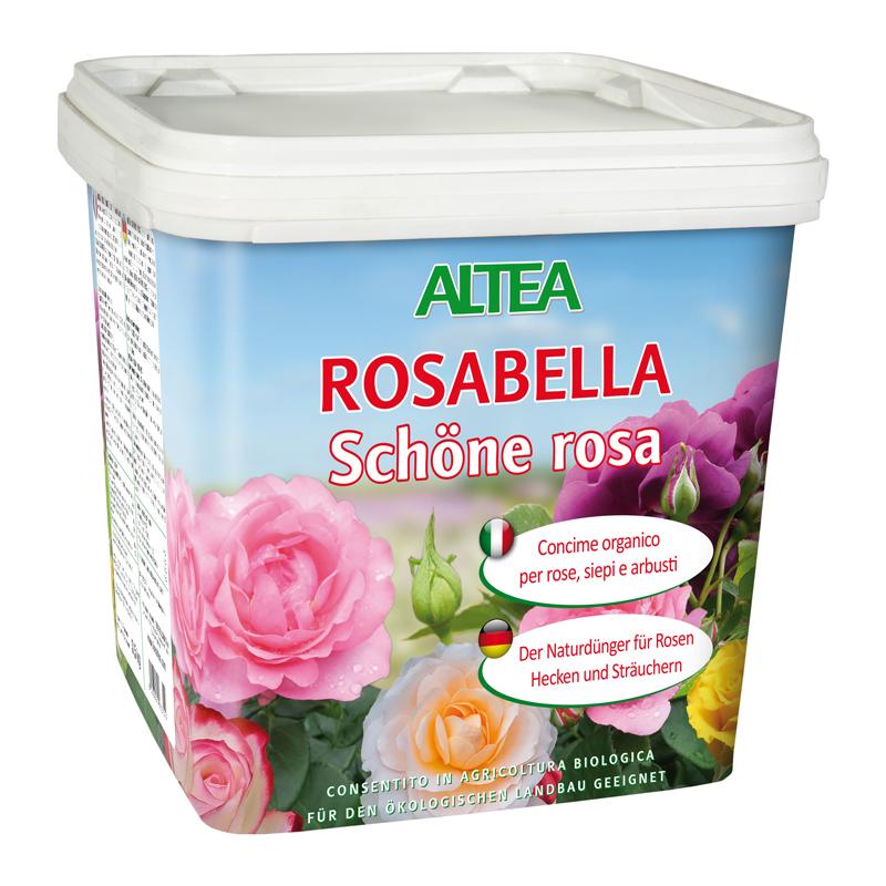 ROSABELLA kg3,5 concime organico Granulare per ROSE