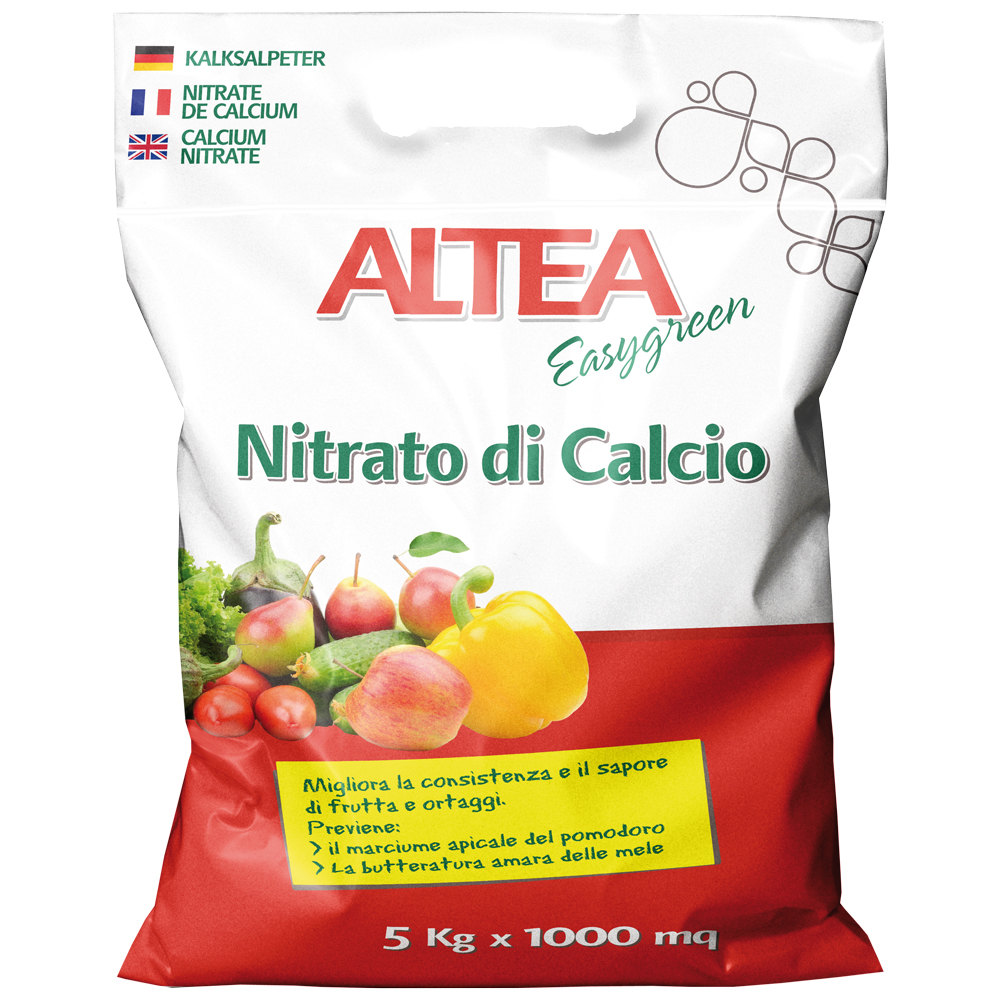 NITRATO DI CALCIO kg5 concime minerale azotato per orti e giardini