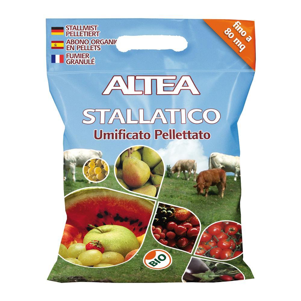 ALTEA STALLATICO kg5 LETAME BOVINO ED EQUINO UMIFICATO PELLETTATO