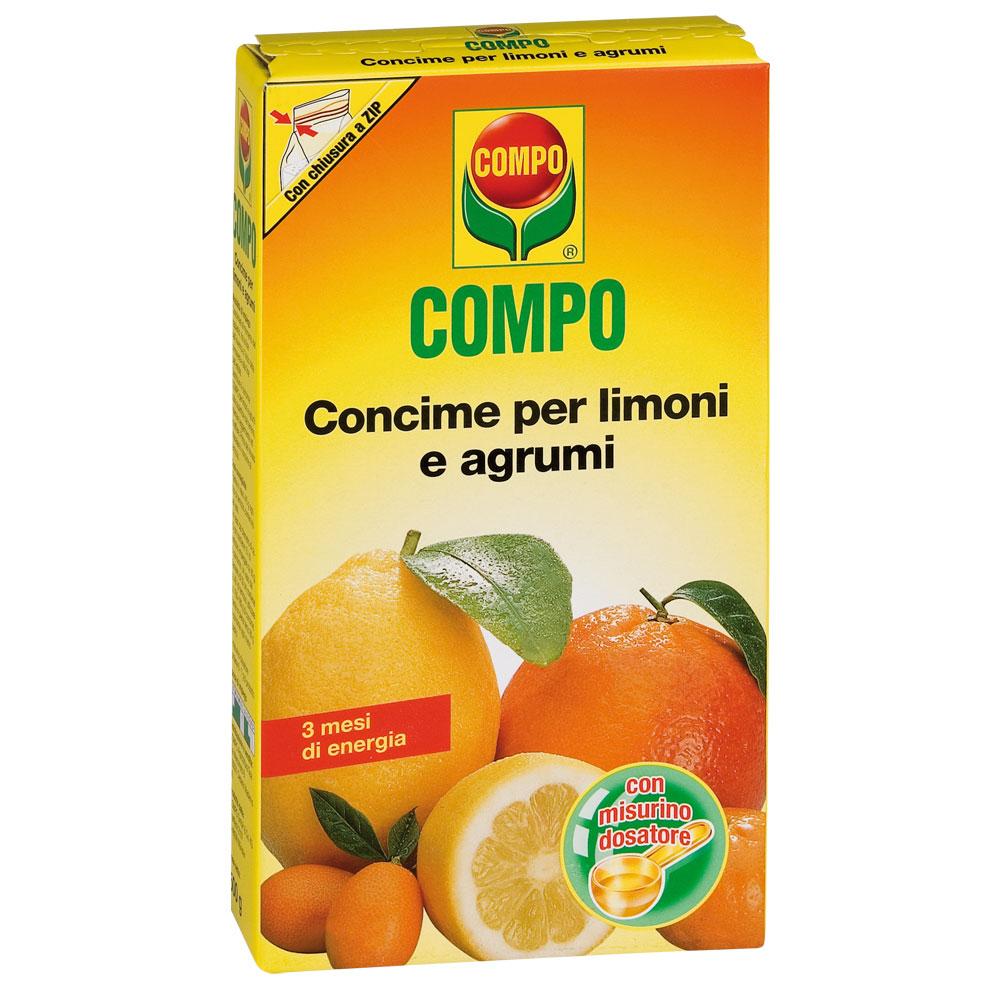 COMPO CONCIME PER LIMONI E AGRUMI GR500