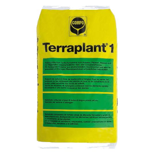TERRAPLANT 1 SUBSTRATO PROFESSIONALE