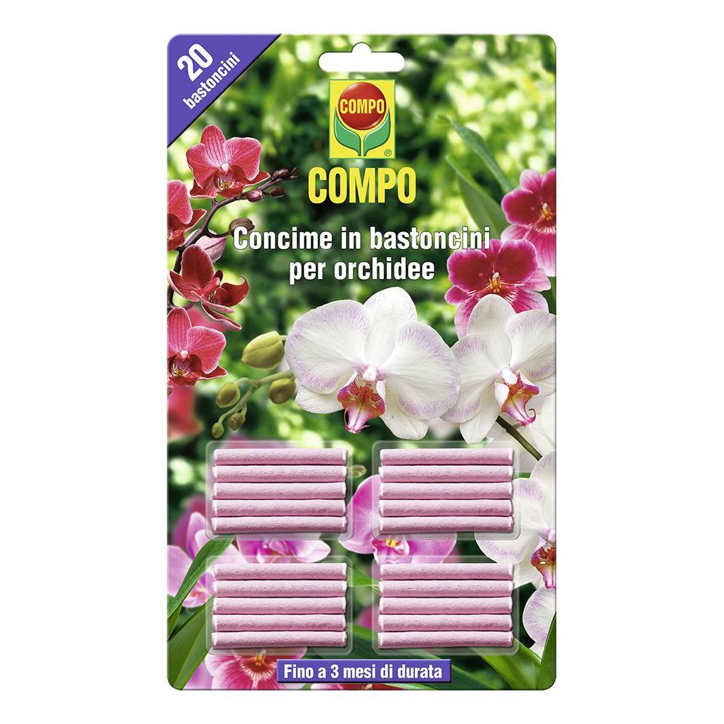 Compo Concime in Bastoncini per Orchidee 20 Pezzi