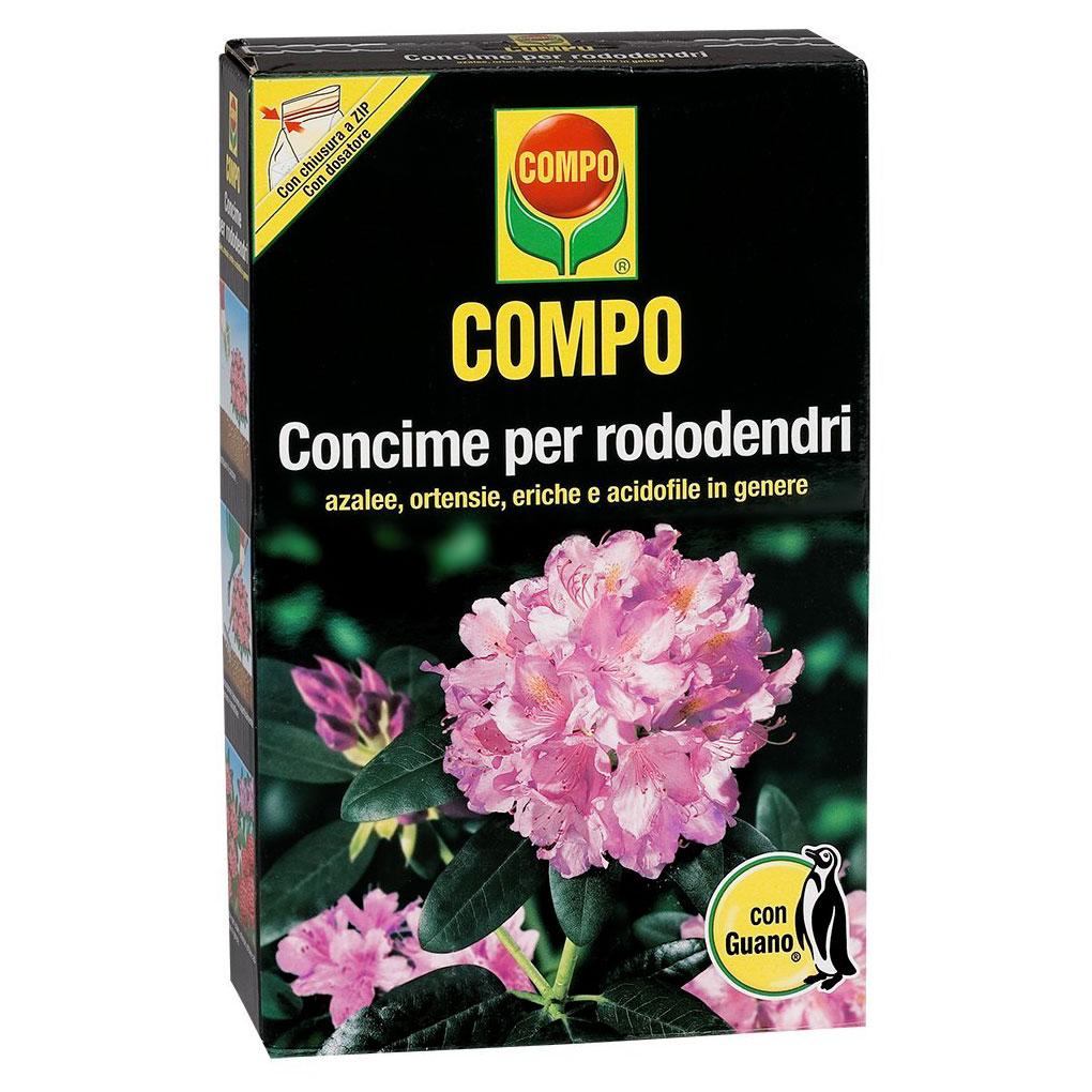 Compo concime per RODODENDRI e acidofile con GUANO kg1