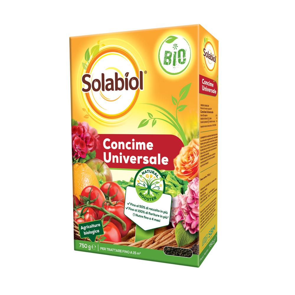 Solabiol Concime Universale BIO Con tecnologia Natural Booster gr750