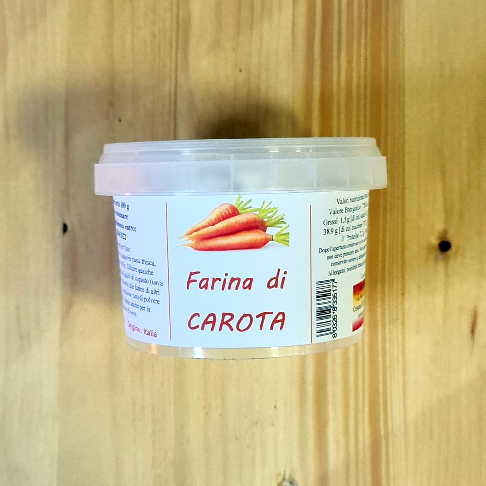 Farina di CAROTA gr100