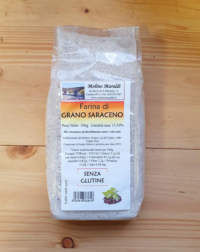 Farina di Grano Saraceno SENZA GLUTINE gr500