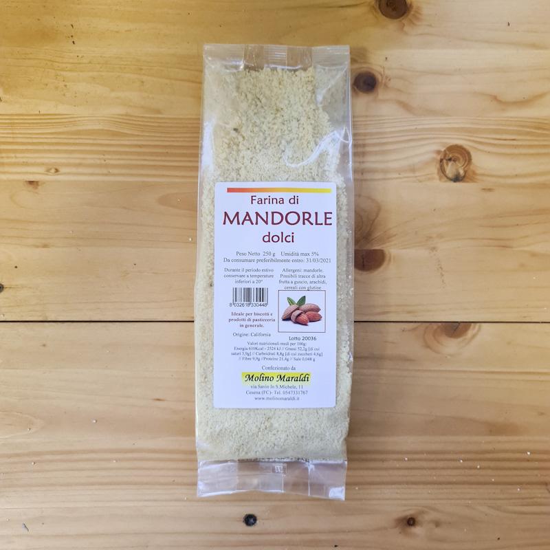 FARINA DI MANDORLE DOLCI GR250