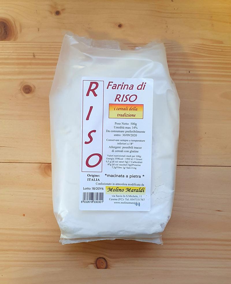 Farina di Riso gr500