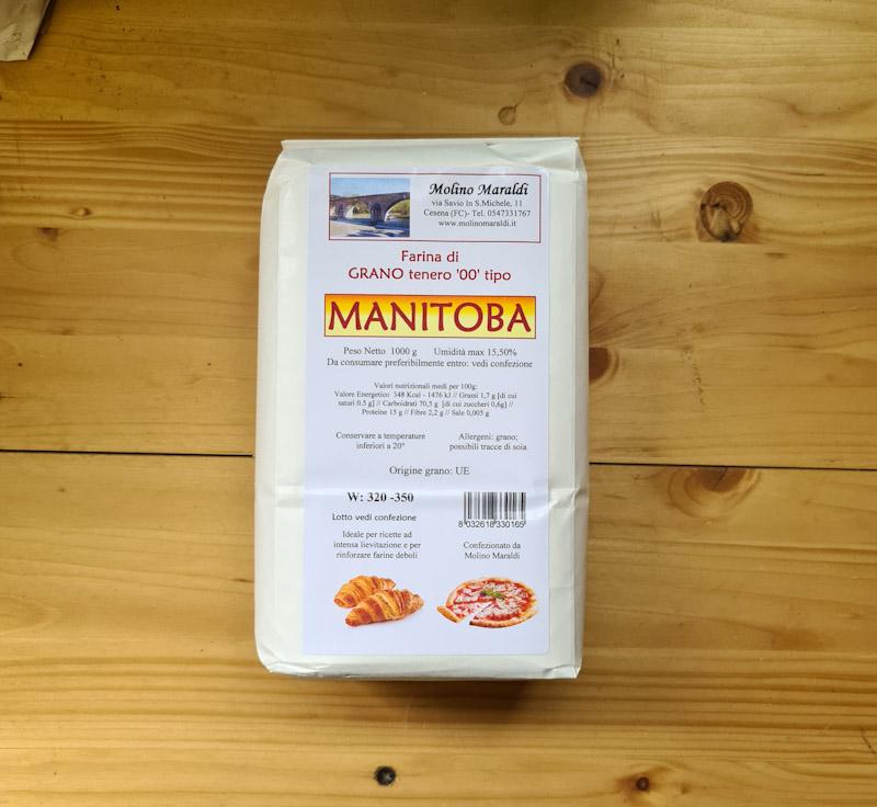 Farina di Grano tenero MANITOBA kg1