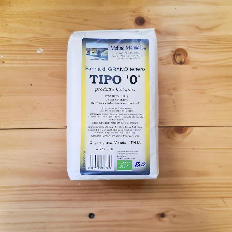 FARINA DI GRANO TENERO TIPO '0' BIO kg1