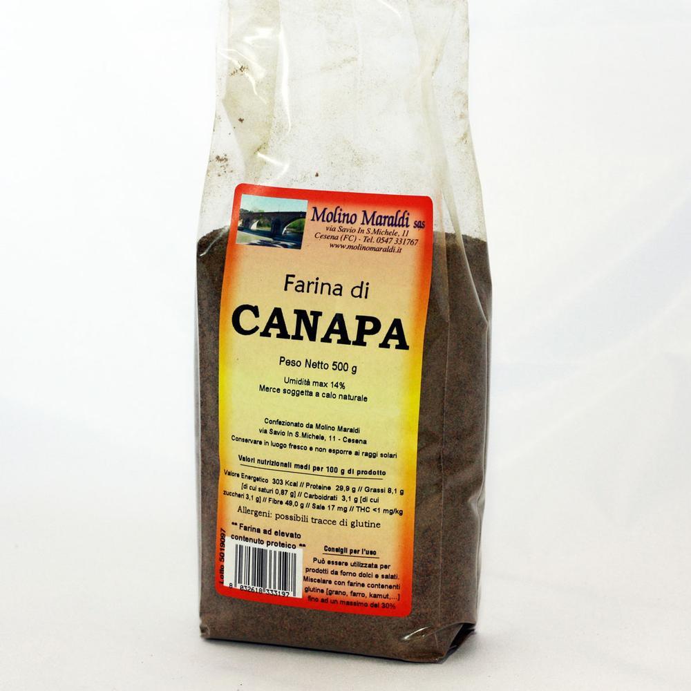FARINA DI CANAPA