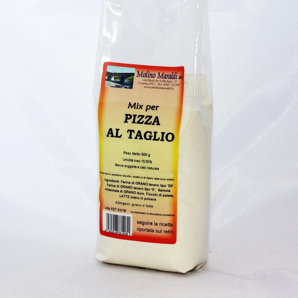 MIX PER PIZZA AL TAGLIO