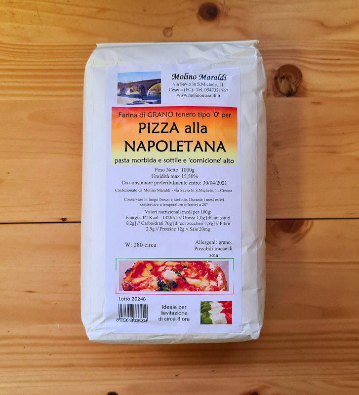 FARINA PER PIZZA alla Napoletana kg1