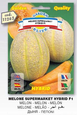 Melone RETATO SUPERMARKET HYBRID F1 in busta maxi