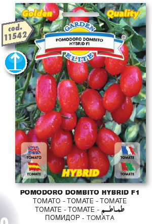 Pomodoro DATTERINO Tomito HYBRID F1 in busta maxi