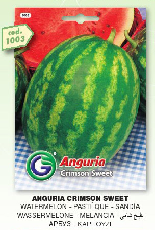 Anguria CRIMSON Sweet in busta maxi