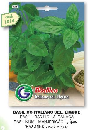 Basilico Italiano sel.LIGURE in busta maxi