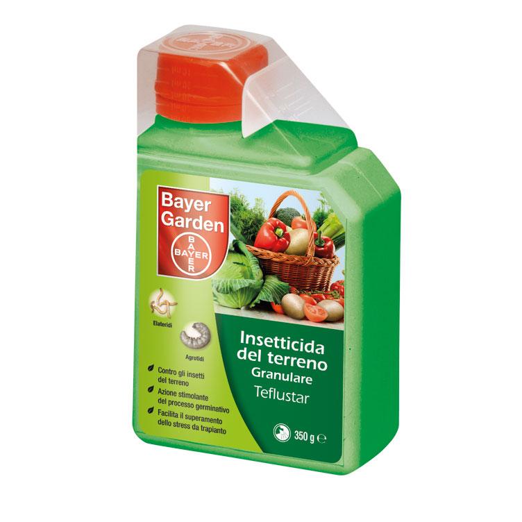 TEFLUSTAR gr350 geoinsetticida per la difesa delle piante orticole e ornamentali dagli insetti del terren