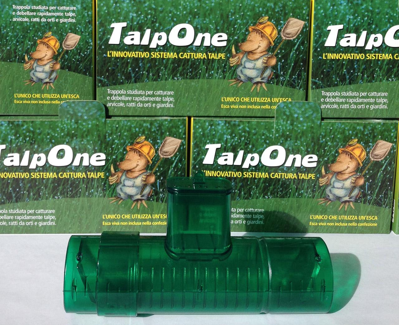 Trappola per TALPE 'TalpOne' per la cattura con esca senza ucciderle!
