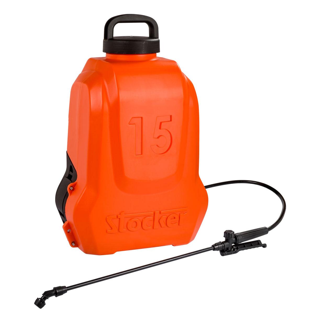 Stocker Pompa a zaino elettrica 15 LITRI Li-Ion pressione 5bar