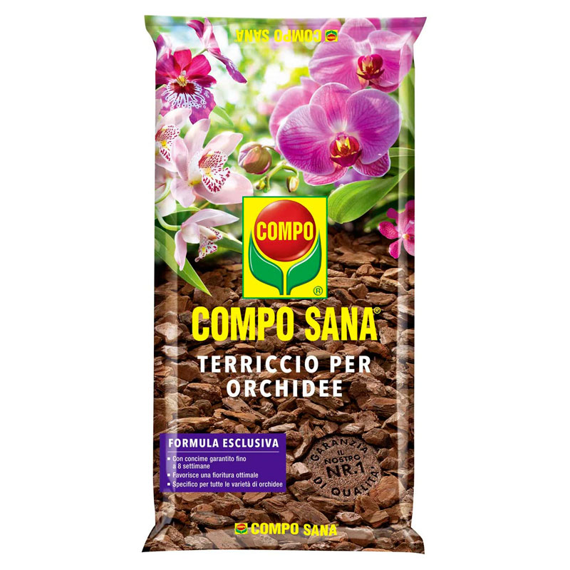 COMPO SANA Terriccio per ORCHIDEE lt5