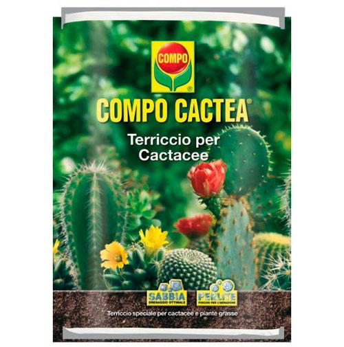COMPO SANA Cactea Terriccio per CACTUS e piante grasse lt5