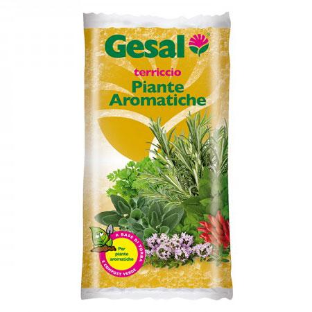 Gesal Terriccio per piante aromatiche sacco da lt20