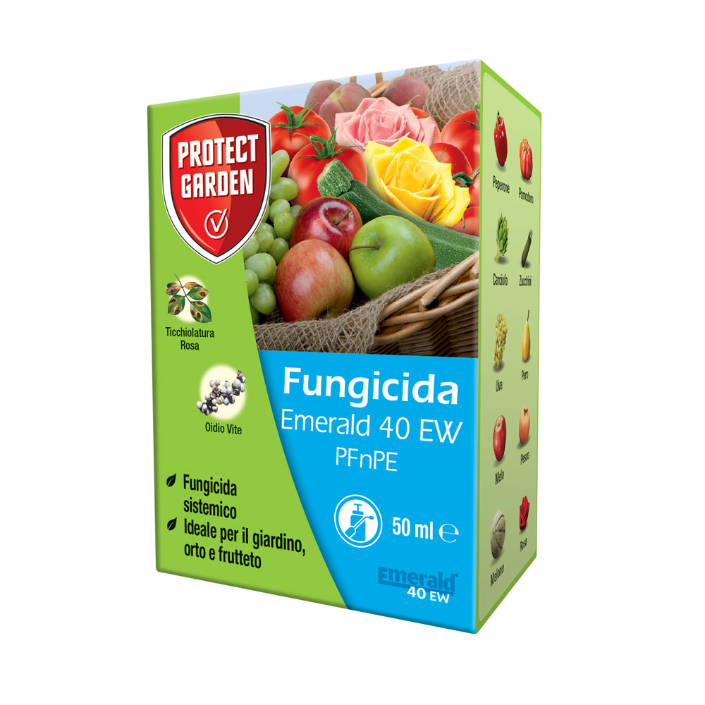 Emerald 40 EW 50 ml PFnPE fungicida sistemico contro Oidio