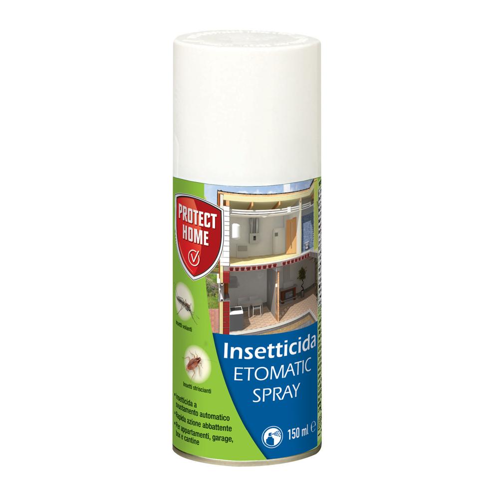 Etomatic Spray 150ml Insetticida aerosol a svuotamento totale