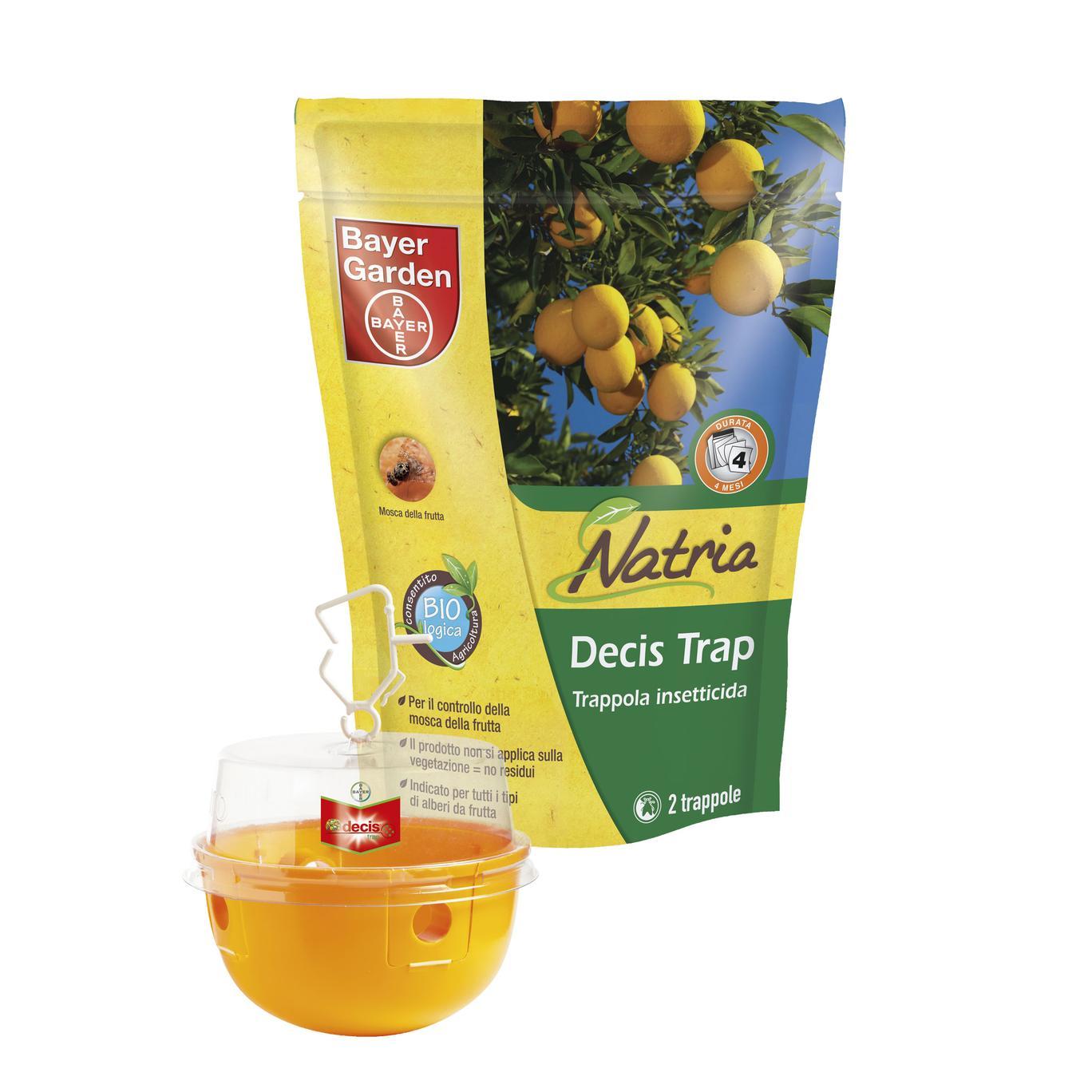 Decis Trap Natria trappola insetticida pronta uso confezione 2pz