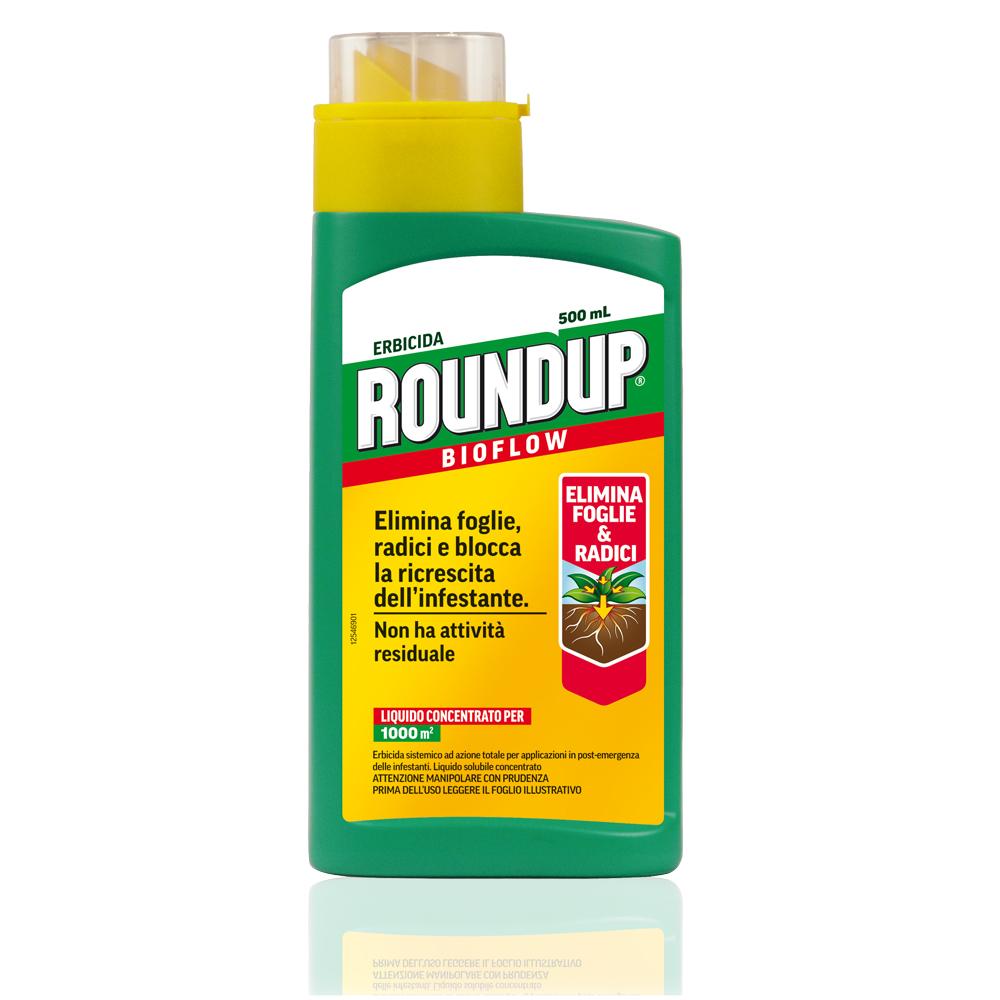 Roundup Bioflow 500ML erbicida sistemico a base di GLIFOSATE