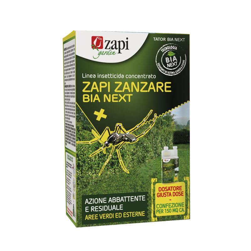 Zapi zanzare BIA NEXT 100ml Insetticida concentrato per uso sul verde