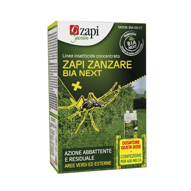Zapi zanzare BIA NEXT 250ml Insetticida concentrato per uso sul verde