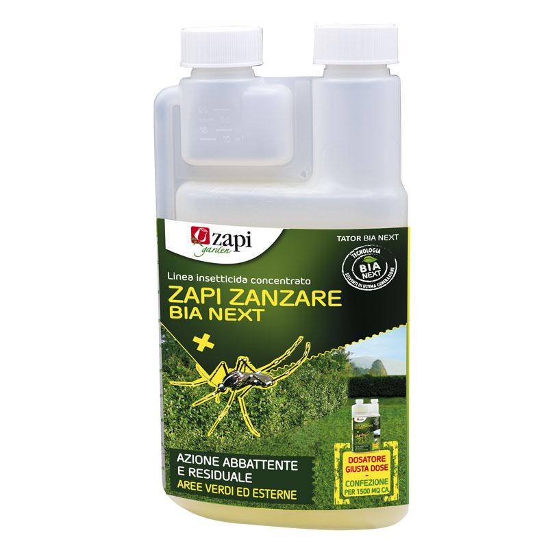 Zapi zanzare BIA NEXT lt1 Insetticida concentrato per uso sul verde