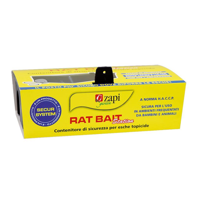 RAT BAIT station Contenitore di sicurezza per esche topicide