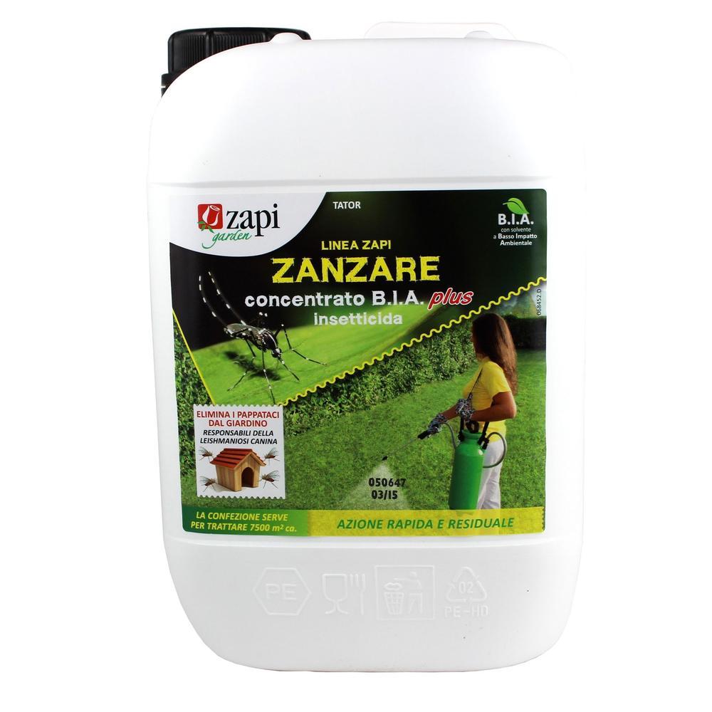 Zapi ZANZARE concentrato b.i.a. Plus confezione da 5 litri