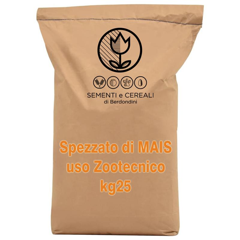 Spezzato di Mais uso zootecnico kg25