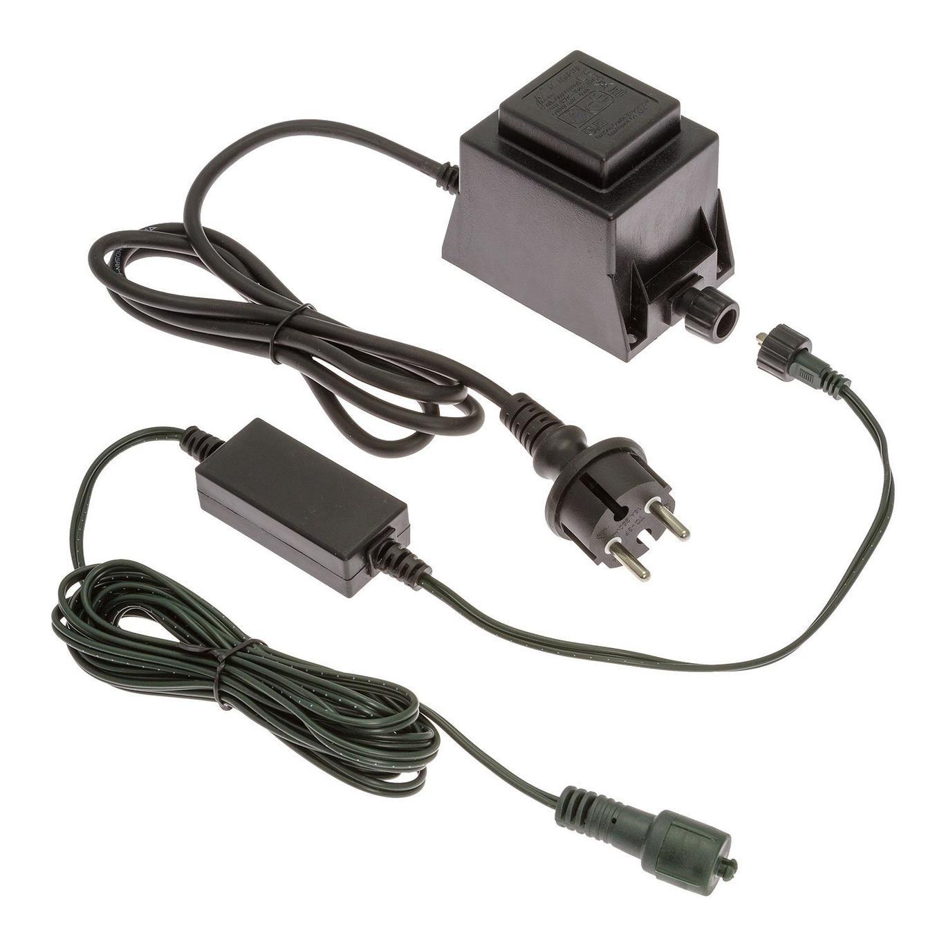 Trasformatore 24V IP44 60VA per luci di Natale