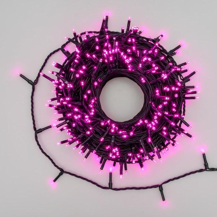 Luci di Natale 360 LED 25,70mt con giochi di luce - ROSA