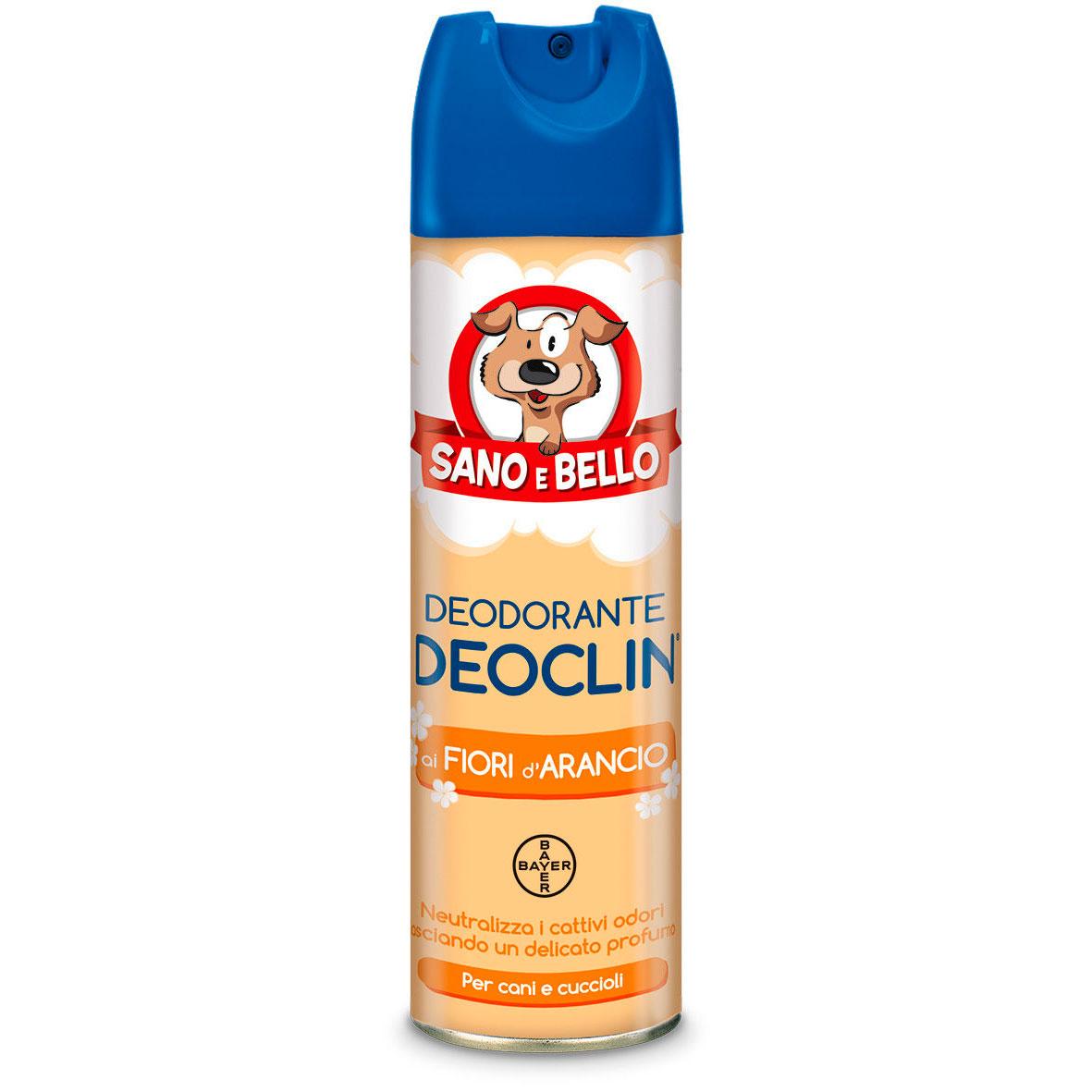 DEOCLIN DEODORANTE ASSORBI ODORI 250ml