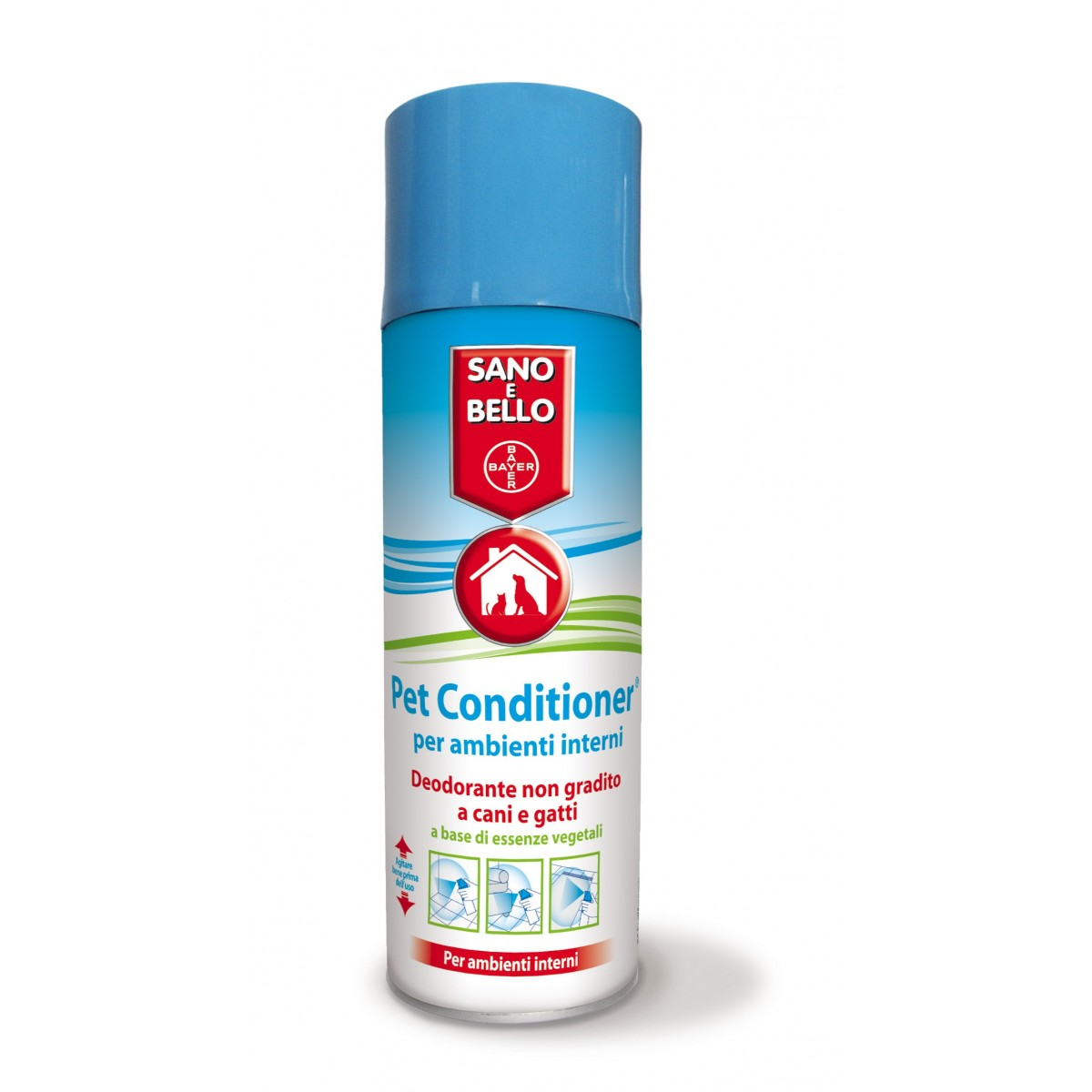 Pet Conditioner Bayer REPELLENTE - diabituante per cani e gatti per INTERNI 300ml